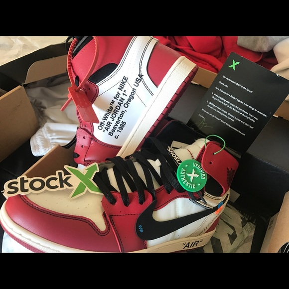 Nike Shoes - Off - white Nike air Jordan 1 Chicago 73354a7869